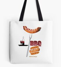 Invitation to a BBQ Party (1513  Views) Tote Bag