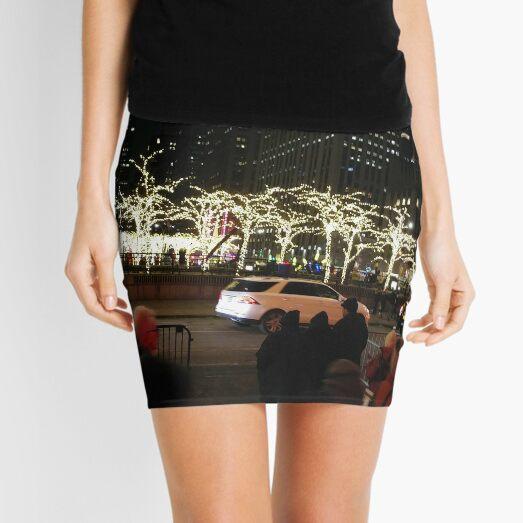 Christmas Lighting Mini Skirt