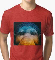 Elephant Blue Tri-blend T-Shirt