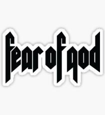 fear of god Sticker