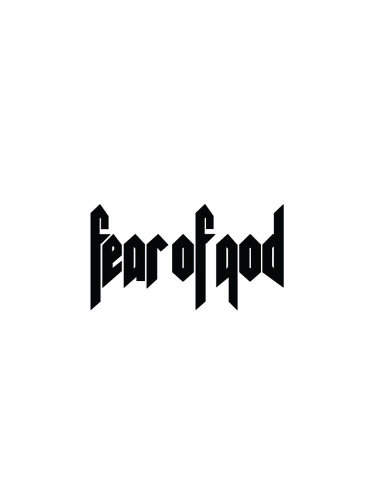 Temor de Dios de deshigner