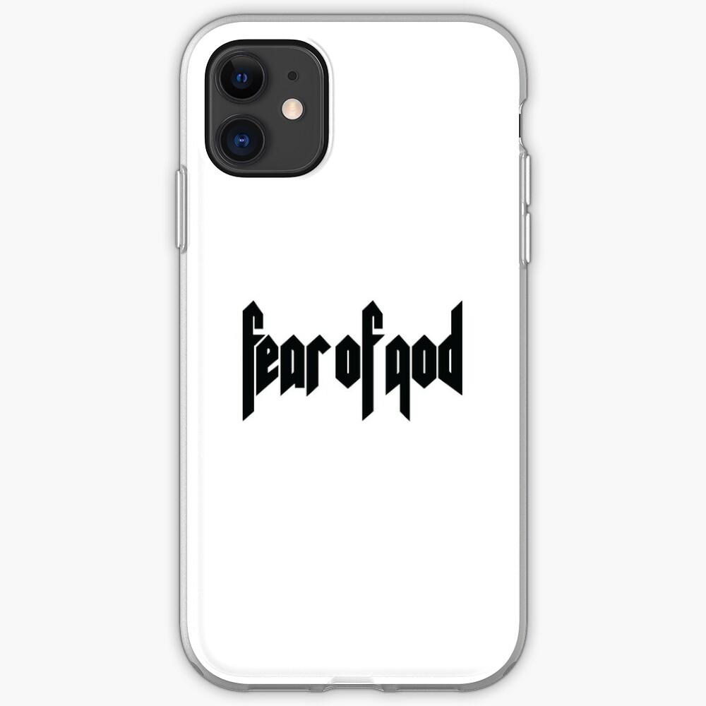 Temor de Dios Funda y vinilo para iPhone