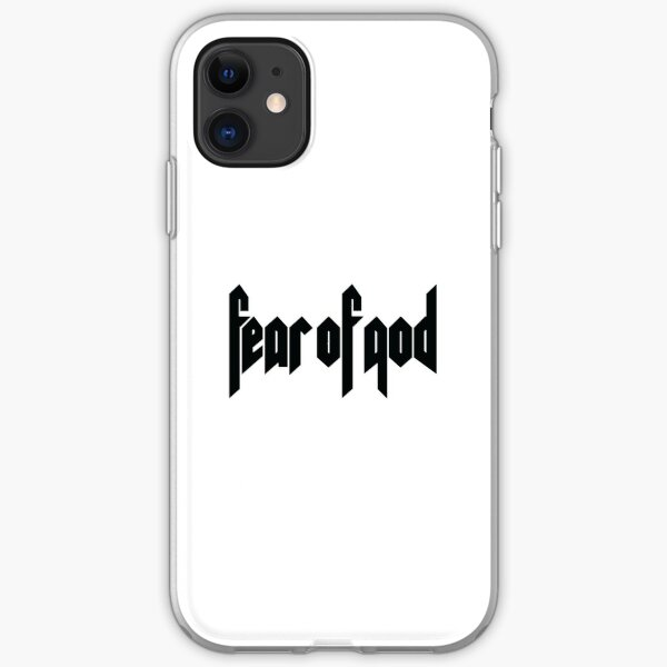 fear of god iPhone Soft Case