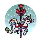 Candy Carousel - Peppermint Unicorn by spiffy-keen
