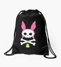 Skull Louise Drawstring Bag