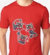 Fluffy Cat Litten Inspired T-Shirt
