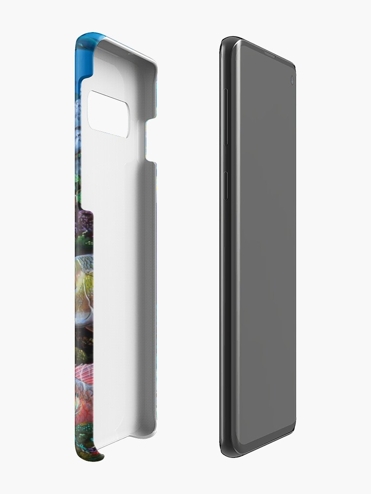 Vista alternativa de Funda y vinilo para Samsung Galaxy Mutton Reef