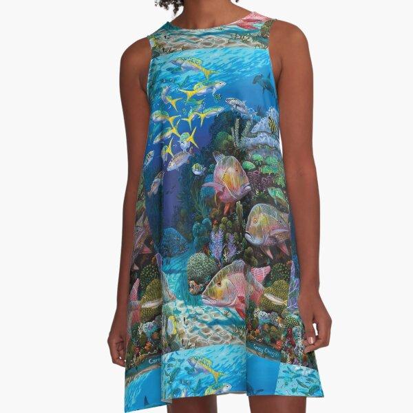 Mutton Reef A-Line Dress