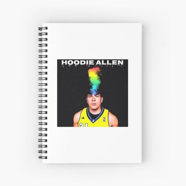 Hoodie Allen Spiral Notebook