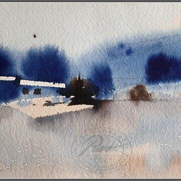 Blue snow by PAEZdePRUNA