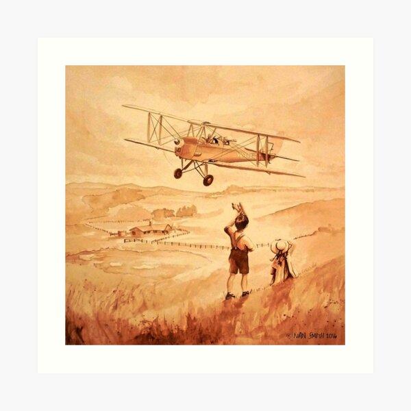 Fields of Flying Dreams Art Print