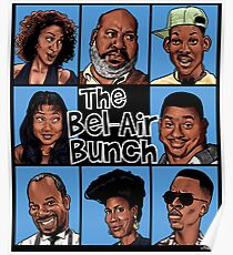 The Bel-Air Bunch Poster