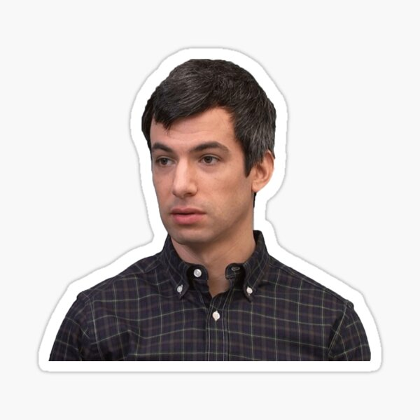 Nathan For You- Nathan Fielder Sticker