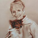 Carol and Buster by marcelfineart