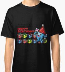 [Pokemon] 8Bit Wobuffet Birthday Edition Classic T-Shirt
