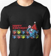 [Pokemon] 8Bit Wobuffet Birthday Edition Unisex T-Shirt