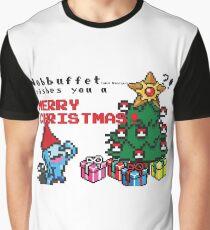 [Pokemon] 8Bit Wobuffet and Staryu Christmas Edition Graphic T-Shirt