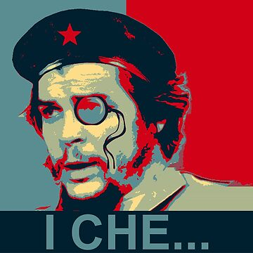 Che Guevara with Monacle by lilypad-au