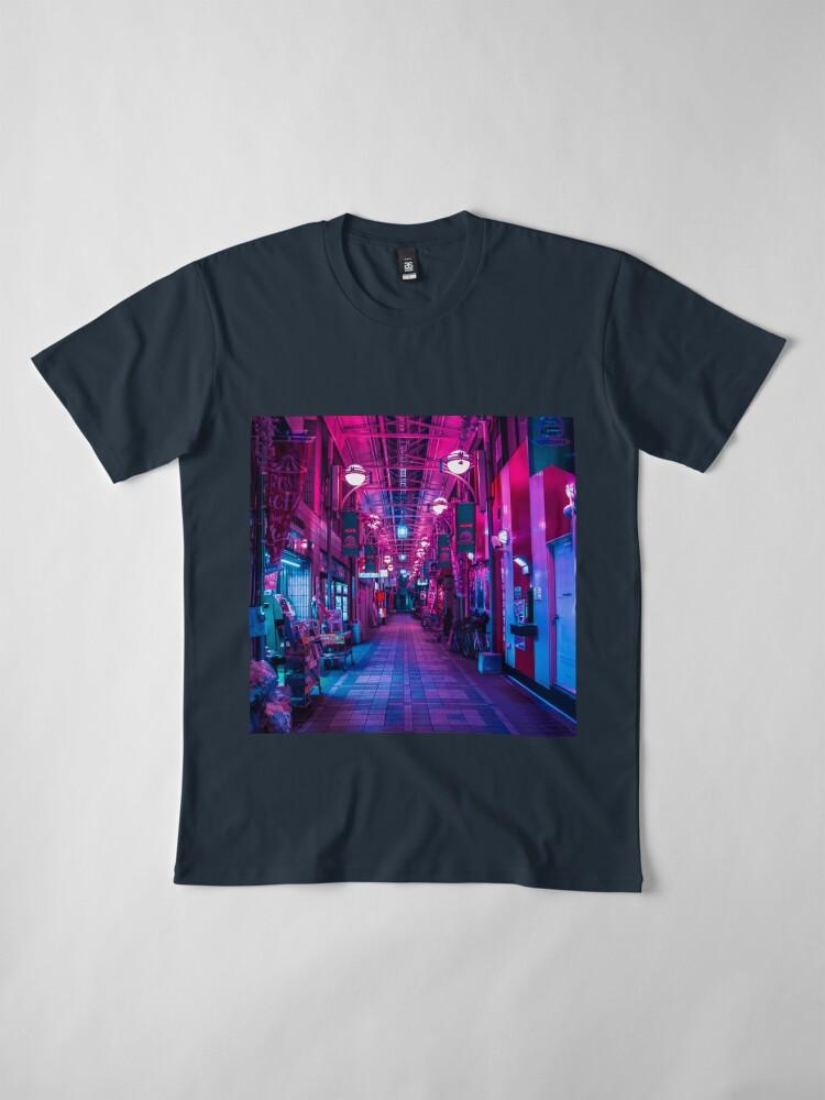 Alternative Ansicht von EINTRITT IN DIE NÄCHSTE DIMENSION Premium T-Shirt
