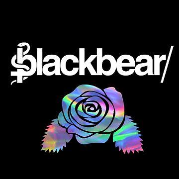 Blackbear Holographic rose LOGO by emathechickenlo
