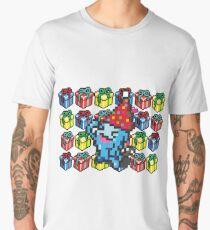 [Pokemon] 8Bit Wobuffet and Staryu Christmas Edition Men's Premium T-Shirt