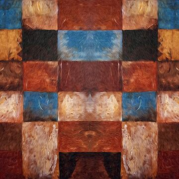 Abstract Squares 3 by fredseghetti
