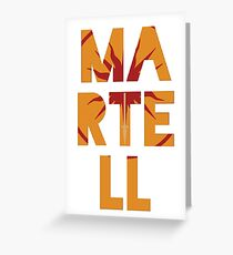 House Martell Greeting Card