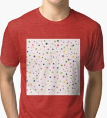 Birthday with Star Pattern Tri-blend T-Shirt