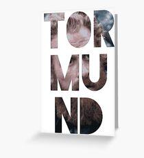Tormund Greeting Card