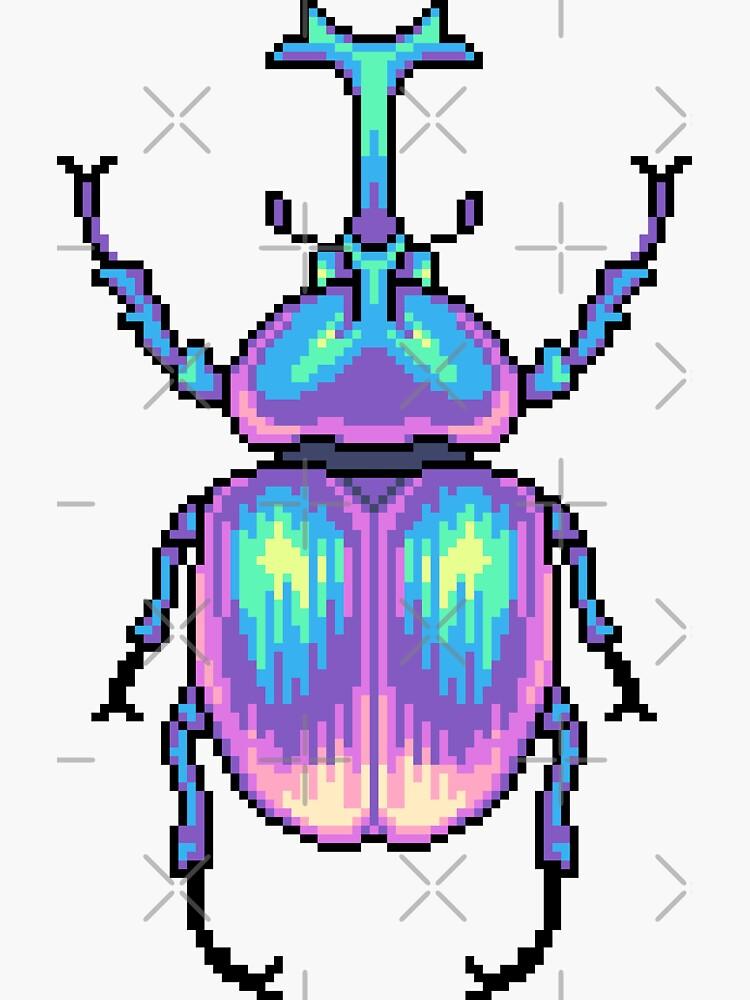 «Pixel Beetle» par Kawiku