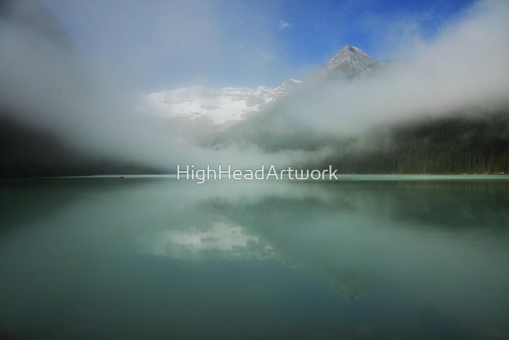 Lake Louise Alberta by HighHeadArtwork