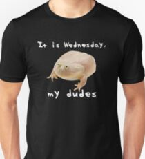 Men's Hats Apparel Accessories Funny It Is Wednesday My Dudes Frog Meme Baseball Cap