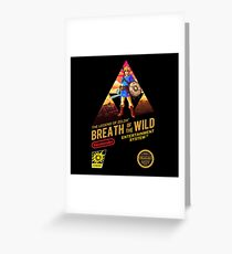 Breath of the Wild COVER NES Greeting Card