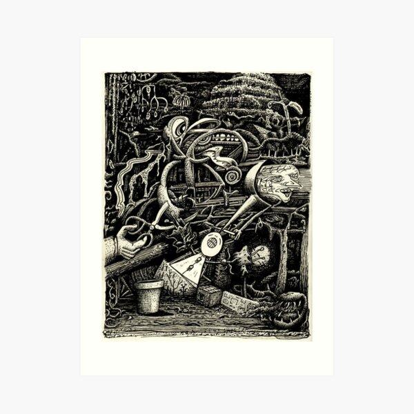 The Garden of Madness Art Print