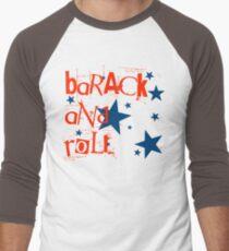 barack and roll Men's Baseball ¾ T-Shirt