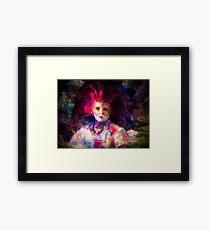 Carnival character Framed Print