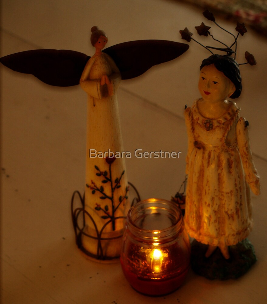 Angels by Candlelight by Barbara Gerstner