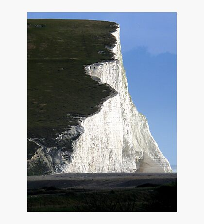 Start of the Seven Sisters at Cuckmere Haven Photographic Print
