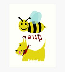 Bee meup Scotty Art Print