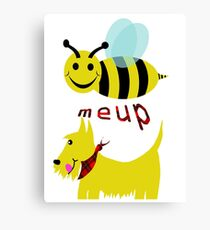 Bee meup Scotty Canvas Print