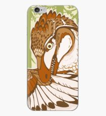 Preening Dromaeosaur iPhone Case