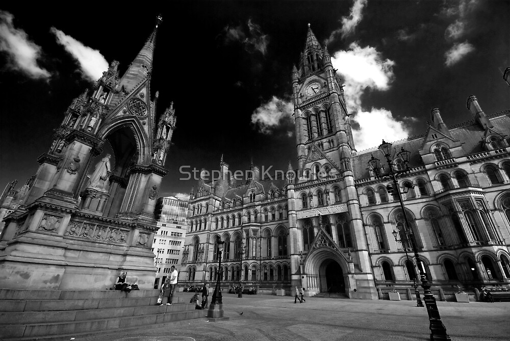 Manchester Town Hall by Stephen Knowles