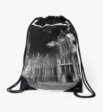 Manchester Town Hall Drawstring Bag
