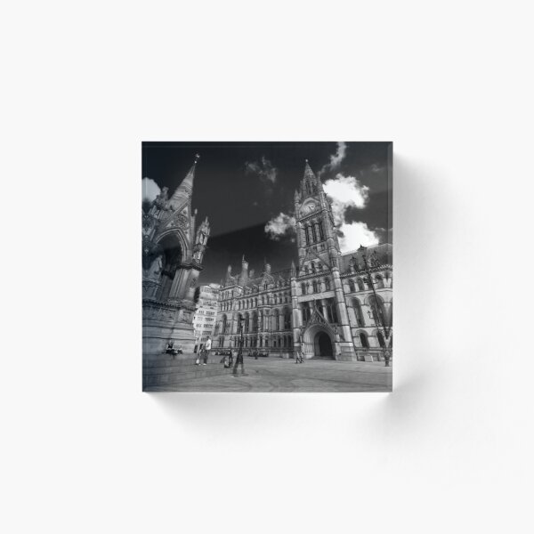 Manchester Town Hall Acrylic Block