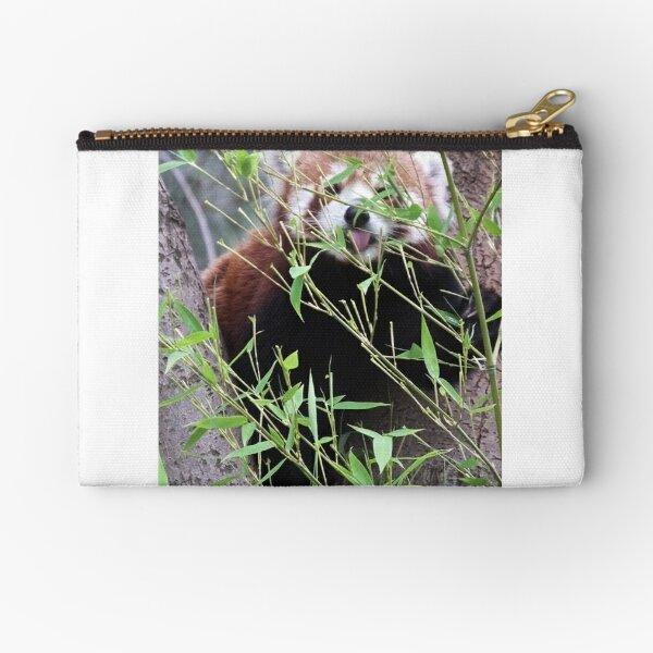 Red Panda Zipper Pouch