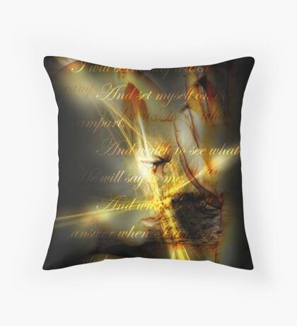 Stand My Watch Throw Pillow