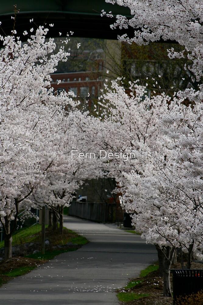 Rails of Trails Flowers by Fern Design