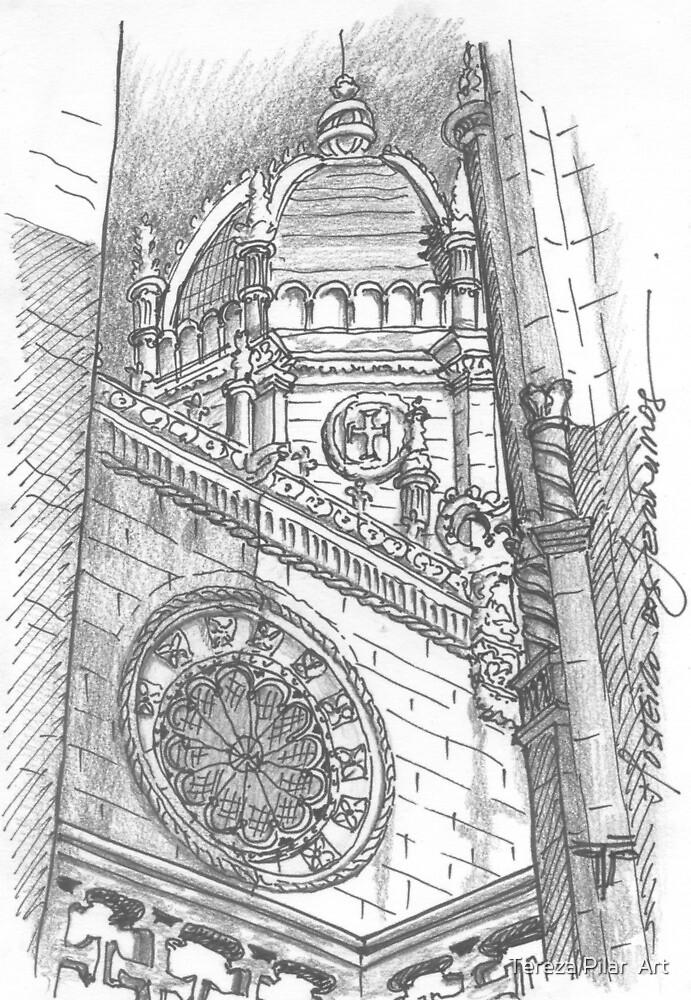 Jerónimos bell tower. Torre sineira do Mosteiro dos Jerónimos by terezadelpilar ~ art & architecture