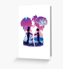 Kimi No Na Wa - Your Name Greeting Card