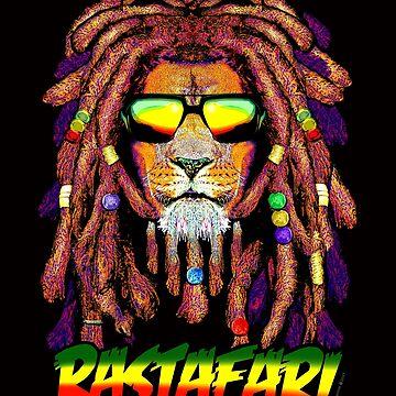 RASTAFARI LION by stuph4kewlkidz